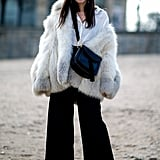 Show off boots with cropped trousers.