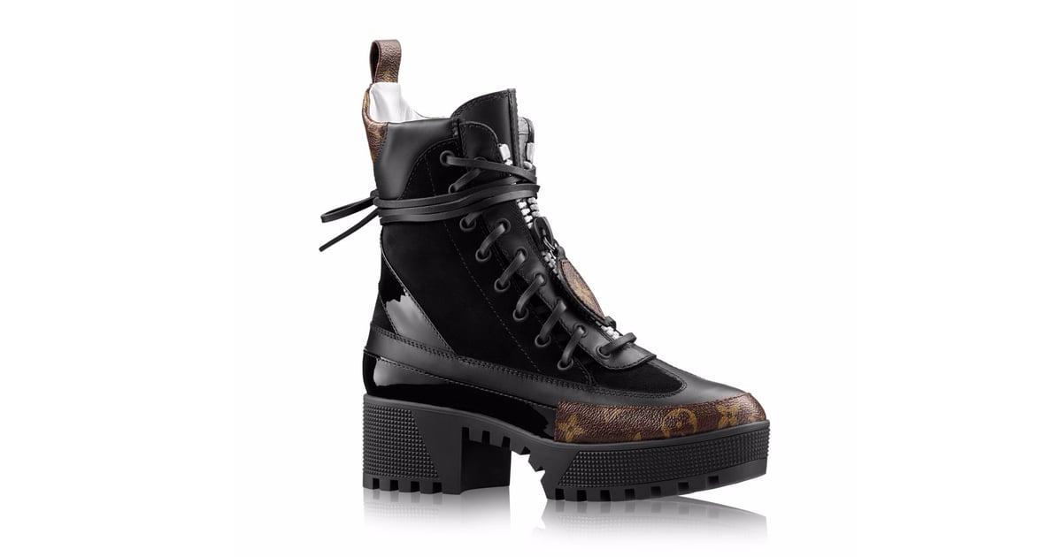 louis vuitton combat boots. louis vuitton laureate platform desert boot | new york vs. california style popsugar fashion photo 10 combat boots r