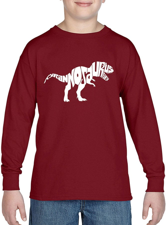 Pop Art Popular Dinosaur Name Graphic T-Shirt