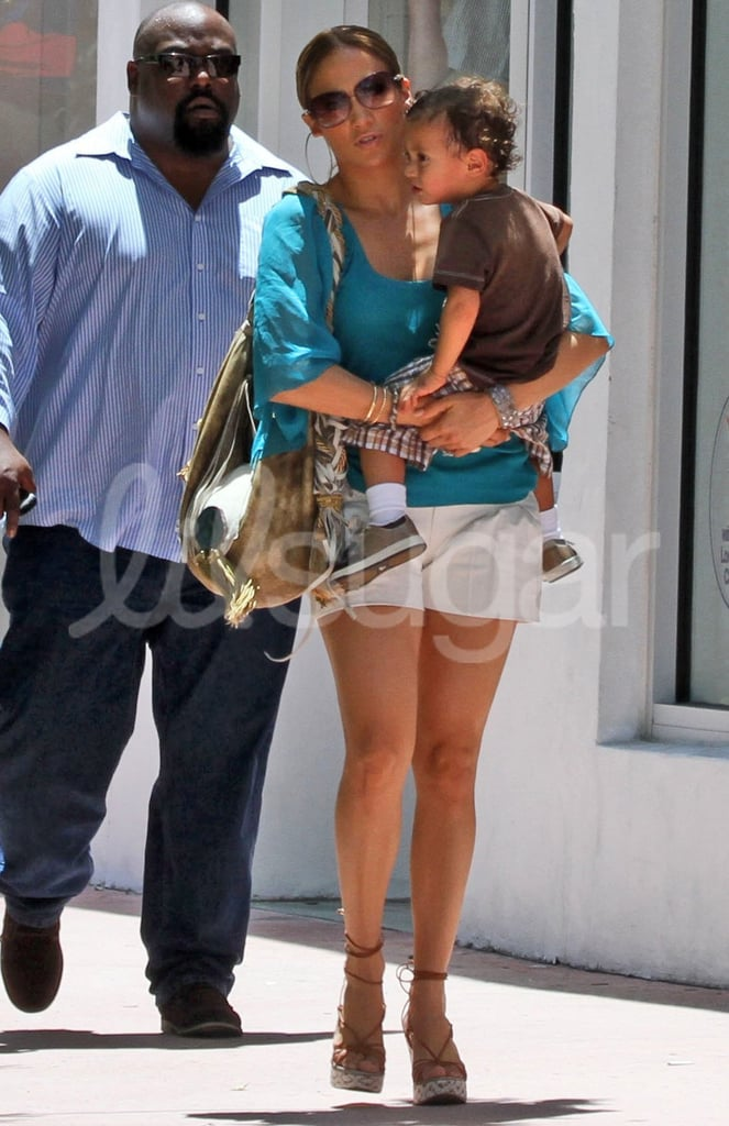 Pictures of Jennifer Lopez, Max Anthony and Emme Anthony