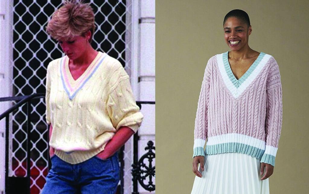 Princess Diana Patsy Jumper Knitting Pattern