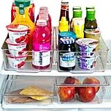 Plastic Refrigerator Organiser Bins