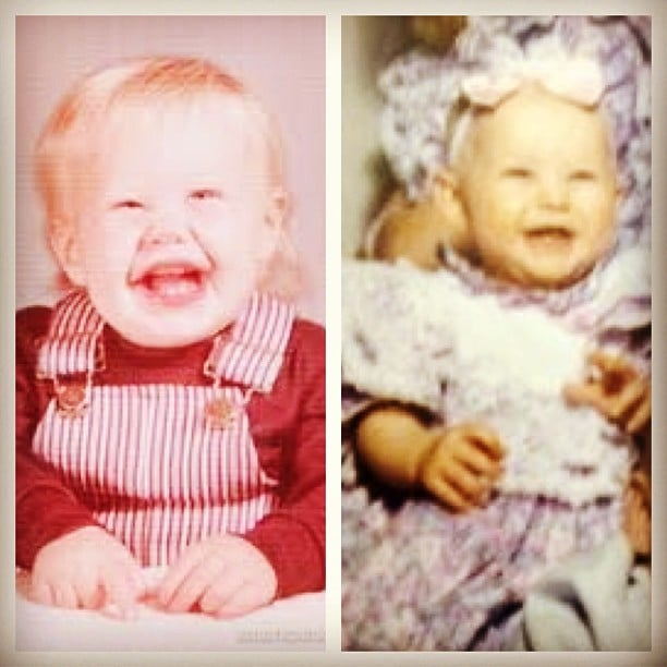 Julianne Hough wished Ryan Seacrest a happy Valentine's Day by sharing an adorable photo of the couple when they were young. Source: Instagram user juleshough