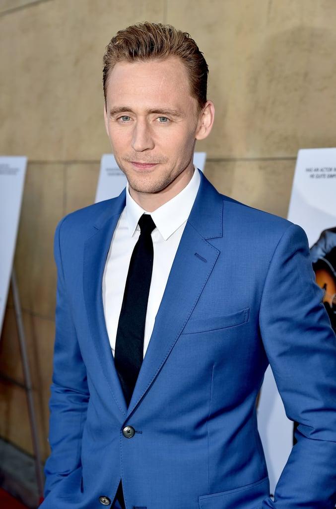 Tom Hiddleston and Elizabeth Olsen on Red Carpet March 2016