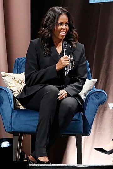 Michelle Obama Book Tour Style