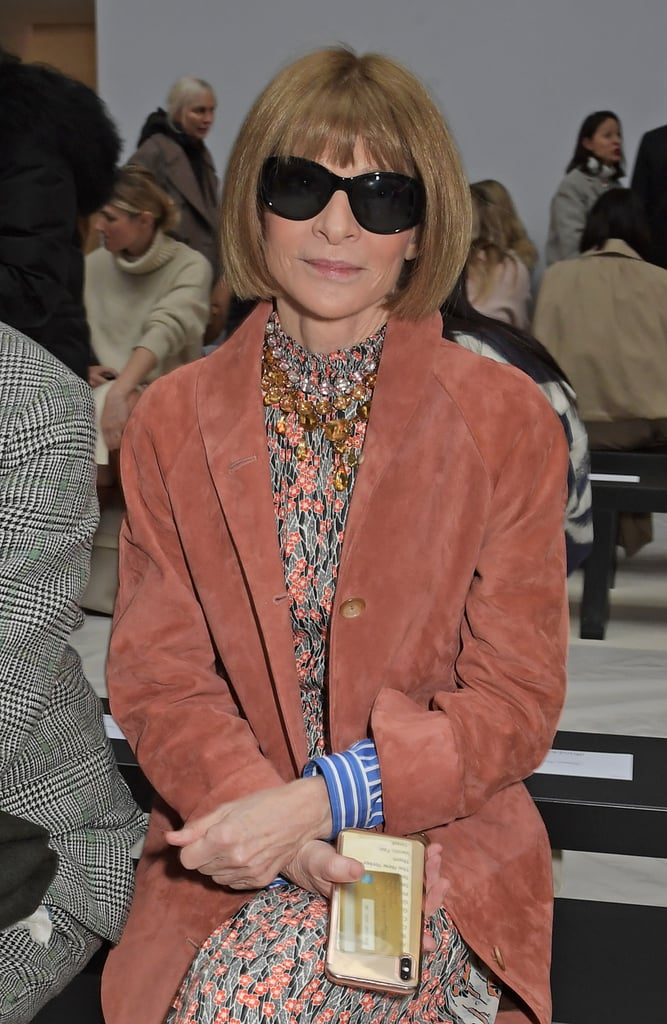 Anna Wintour at the JW Anderson Fall 2020 Show