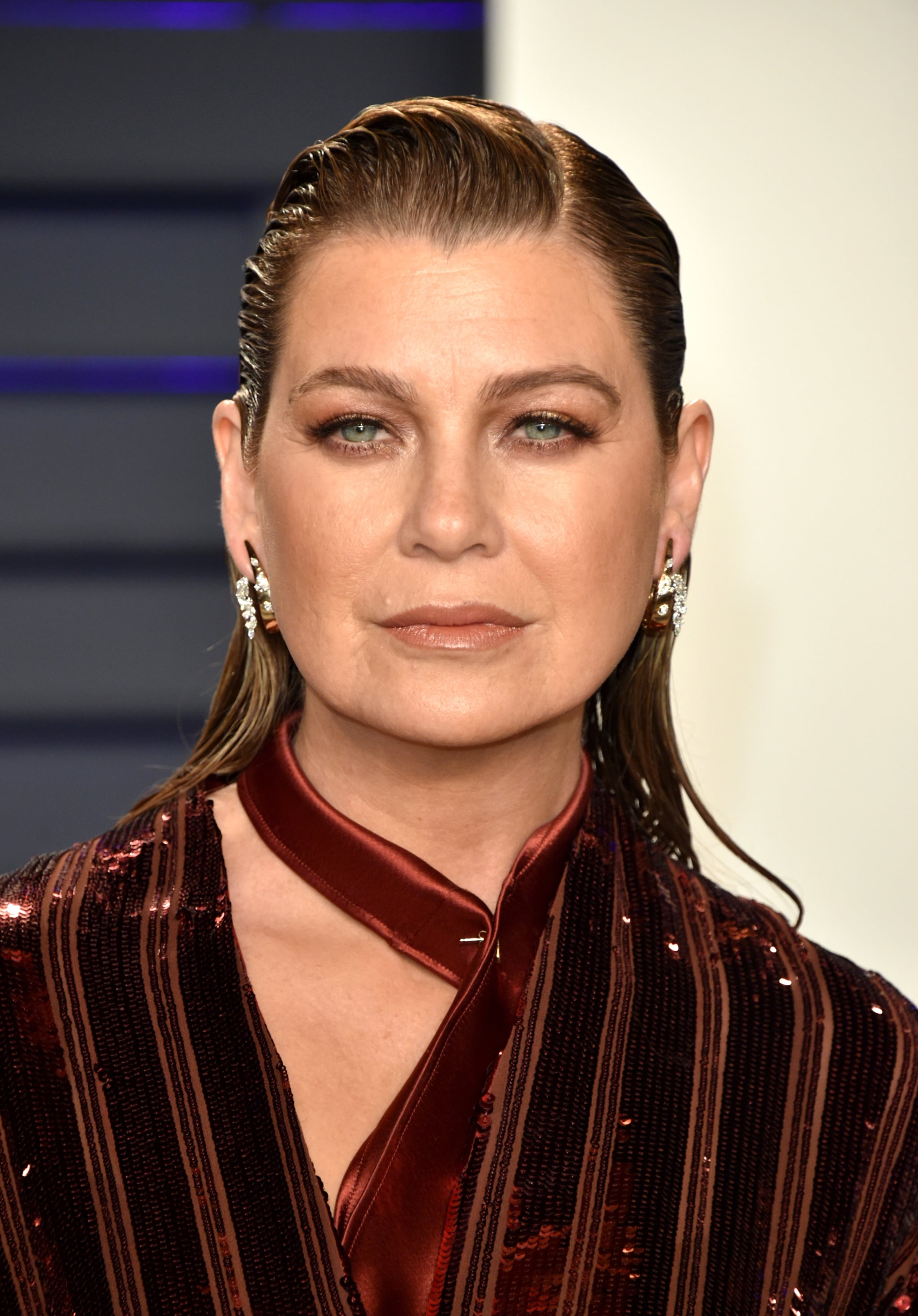 Ellen Pompeo at the 2019 Vanity Fair Oscars Party | The Afterparty Beauty  Looks Were So Good, We Think They Deserve Oscars, Too | POPSUGAR Beauty  Photo 66