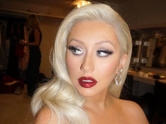 Christina Aguilera Returns to Her Blonde Bombshell Vibes with New Hair Color