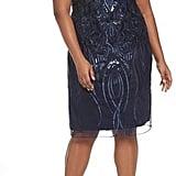 Brianna Sequin Embroidered Sheath Dress