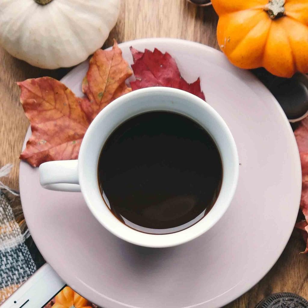 Healthy Pumpkin Spice Coffee