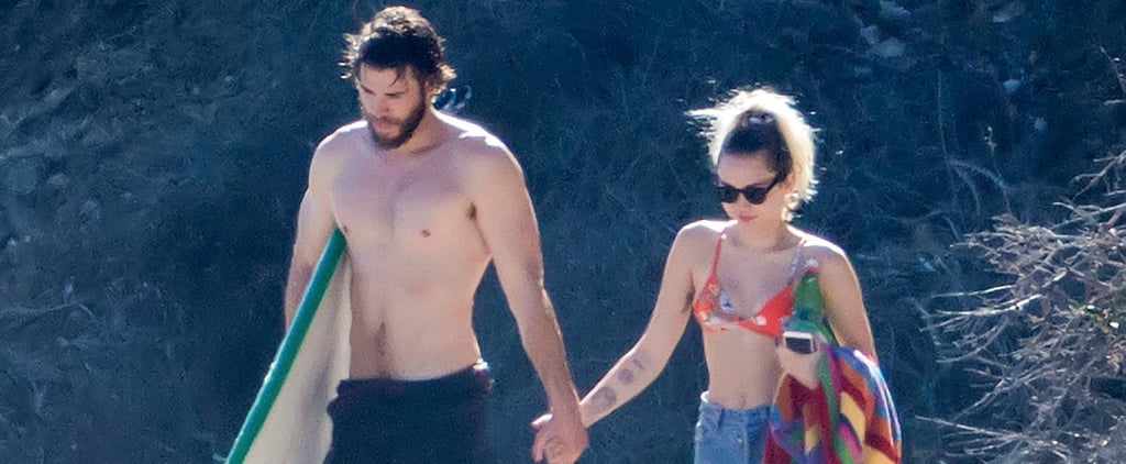 In Honor of Miley's New Song, Here Are Some Photos of Her and Liam in Malibu