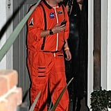 James Corden as an Astronaut