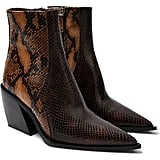 Topshop Honour Pointed-Toe Western Boots