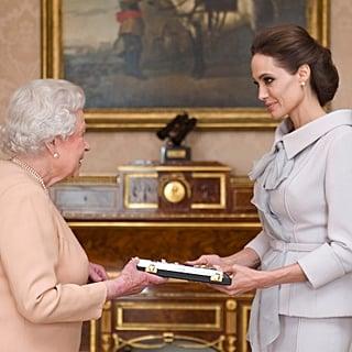Queen Elizabeth With Celebrities