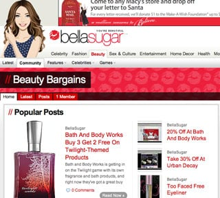 Join BellaSugar's Beauty Bargains Group