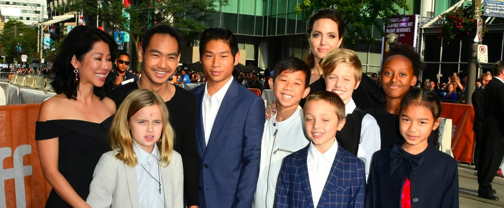 Angelina Jolie Celebrates Her Big Movie Premiere With All 6 of Her Kids