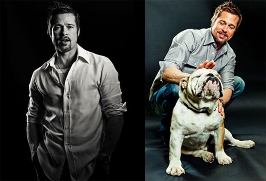 Brad Pitt's Life Is a Parade of Family, Love, and Travel