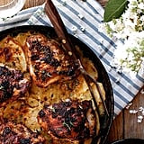 Roast Chicken and Potato Gratin Skillet