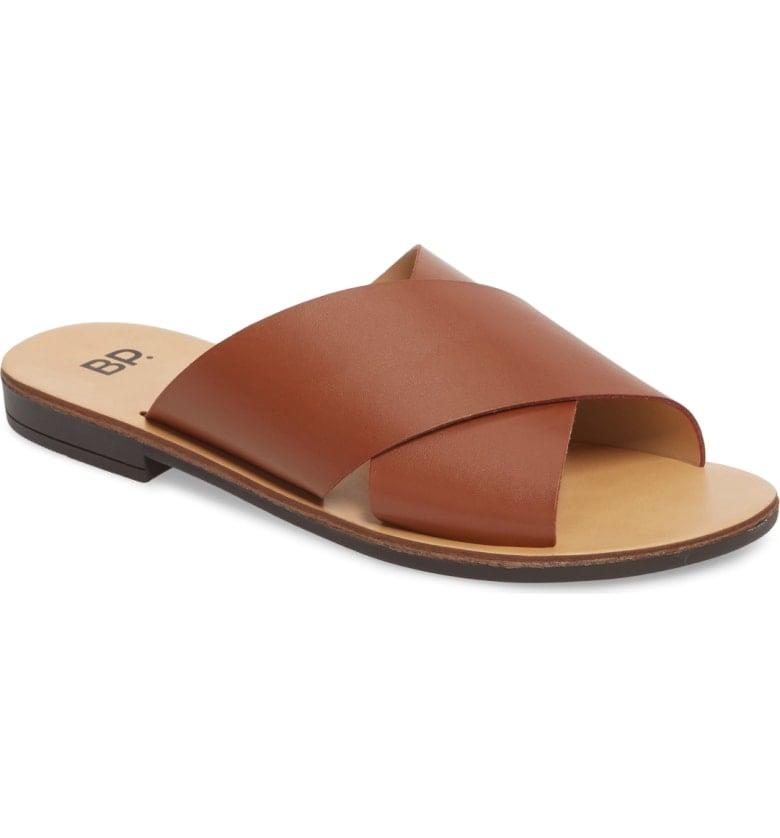 BP. Twist Cross Strap Sandal