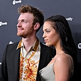 Finneas O'Connell and Claudia Sulewski attending the Spotify Hosts Best New Artist Party in 2020