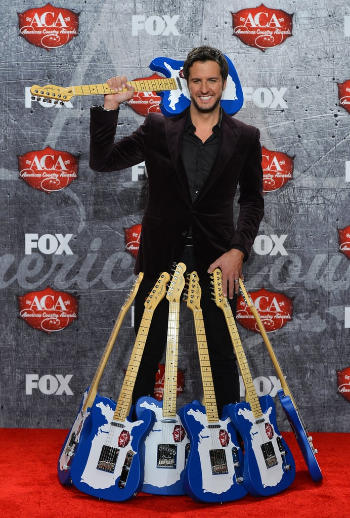 Luke Bryan won multiple awards at the American Country Awards.