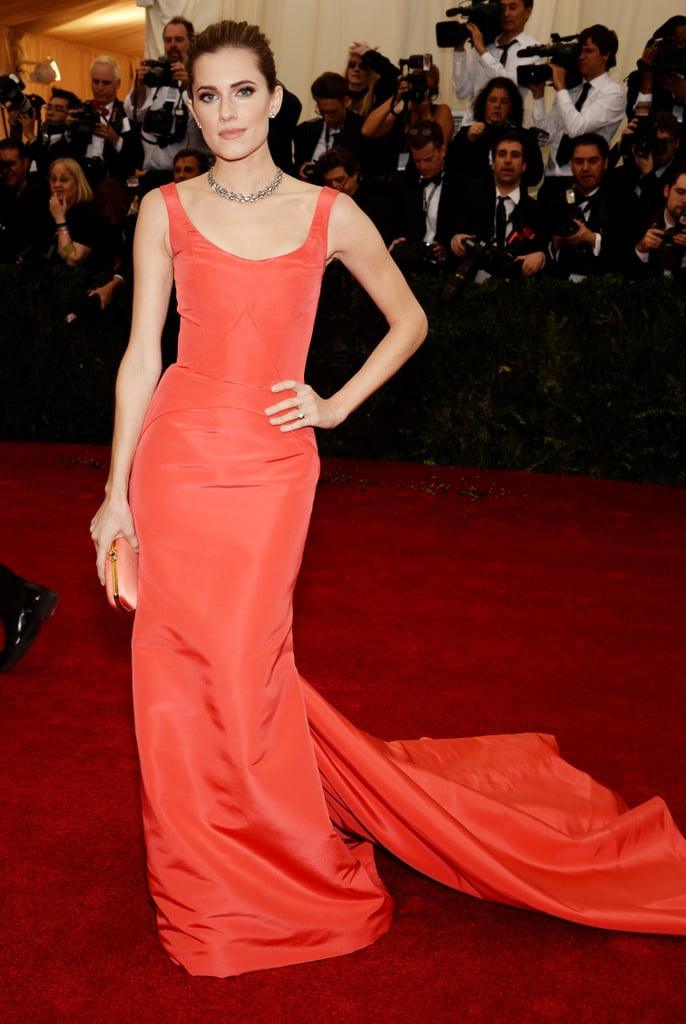 Allison Williams at the 2014 Met Gala