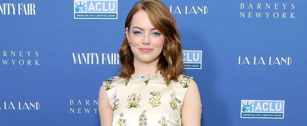 "All We Can Talk About Is Emma Stone's ""Feather Duster"" Belt"