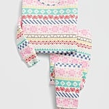 This pastel babyGap Fair Isle PJ Set ($27) puts a sweet and soft spin on your average holiday pajamas.