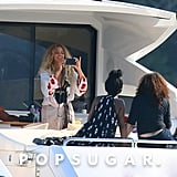 Beyonce and Jay Z in Nice, France, July 2016