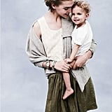 Arizona Muse and Two-Year-Old Son Nikko Model for J.Crew's May 2011 Catalogue