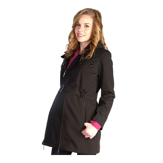 The great thing about the Japanese Weekend mama coat ($116, originally $258) is that it comes with a secret panel that turns into a baby carrier once he or she is here.