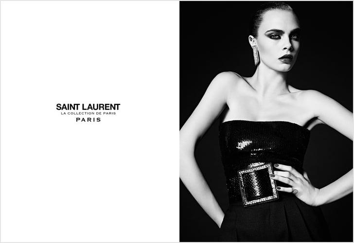 Cara Delevingne Saint Laurent Campaign Spring 2016