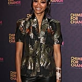 Beyonce Knowles at the Chime For Change Concert in London