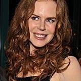 Nicole Kidman With Red, Curly Hair