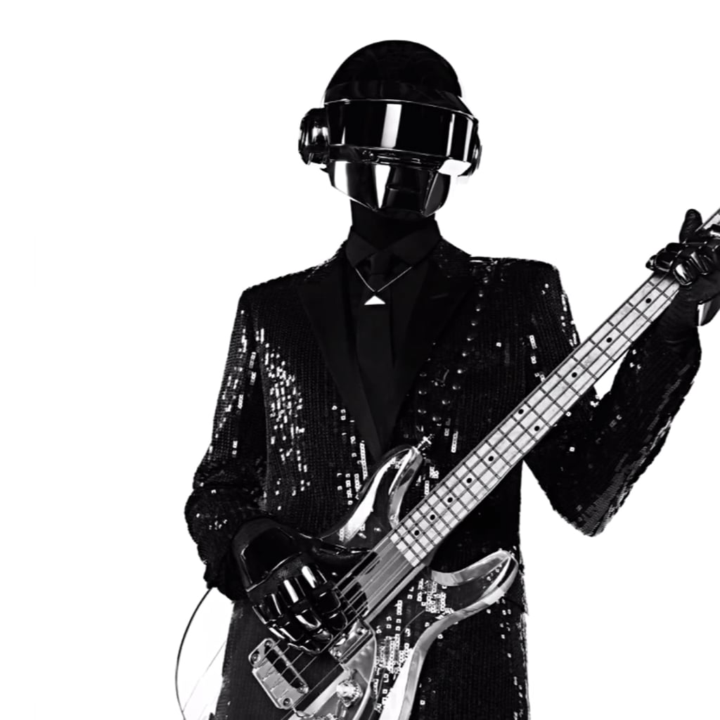 Daft Punk in Saint Laurent's Music Project campaign. Photo courtesy of Saint Laurent.