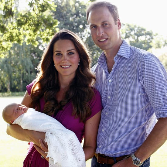 Kate Middleton Wears Seraphine Maternity Dress Family Photo