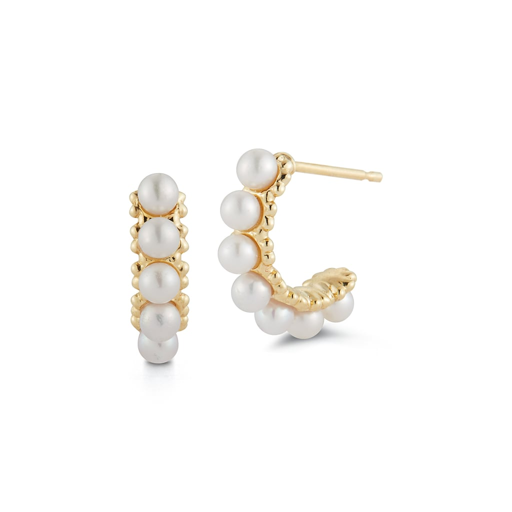 Barbela Mini Pearl Hoops