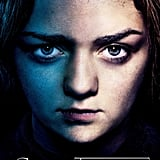 Arya Stark Game of Thrones season three poster.