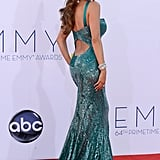 Sofia Vergara at the 2012 Emmys