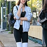 Let Bella Hadid Teach You a Lesson on How to Put a Luxury Spin on Athleisure