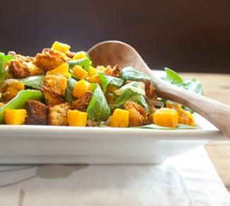 Panettone salad
