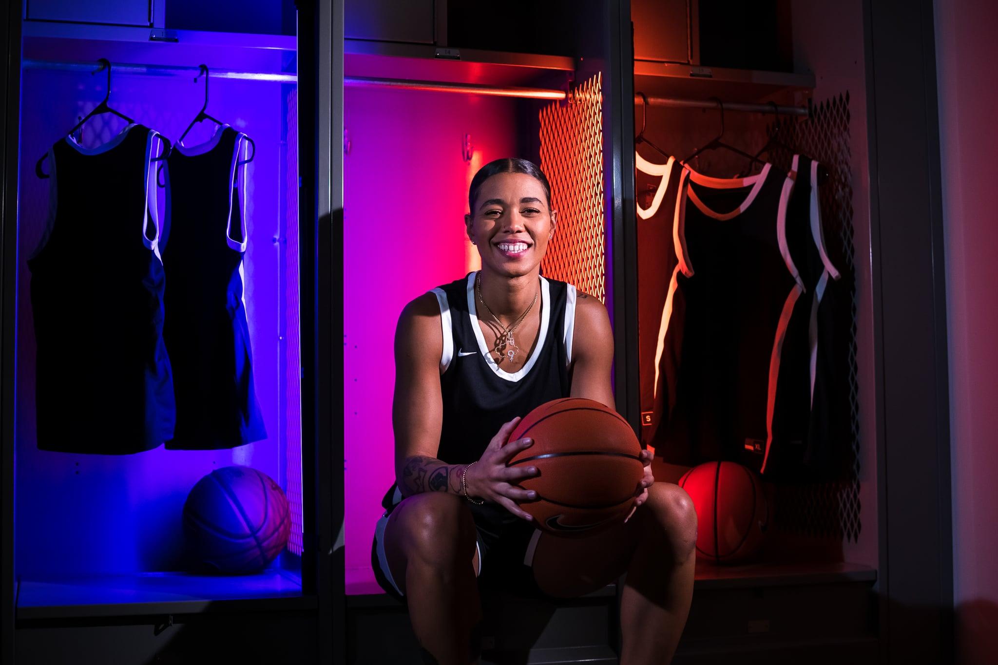 Natasha Cloud for Athletes Unlimited Basketball