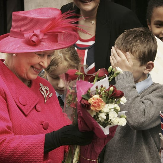 Queen Elizabeth II With Kids Pictures