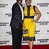 Tracy Morgan and his wife, Megan Wollover, stunned on the red carpet in 2017.
