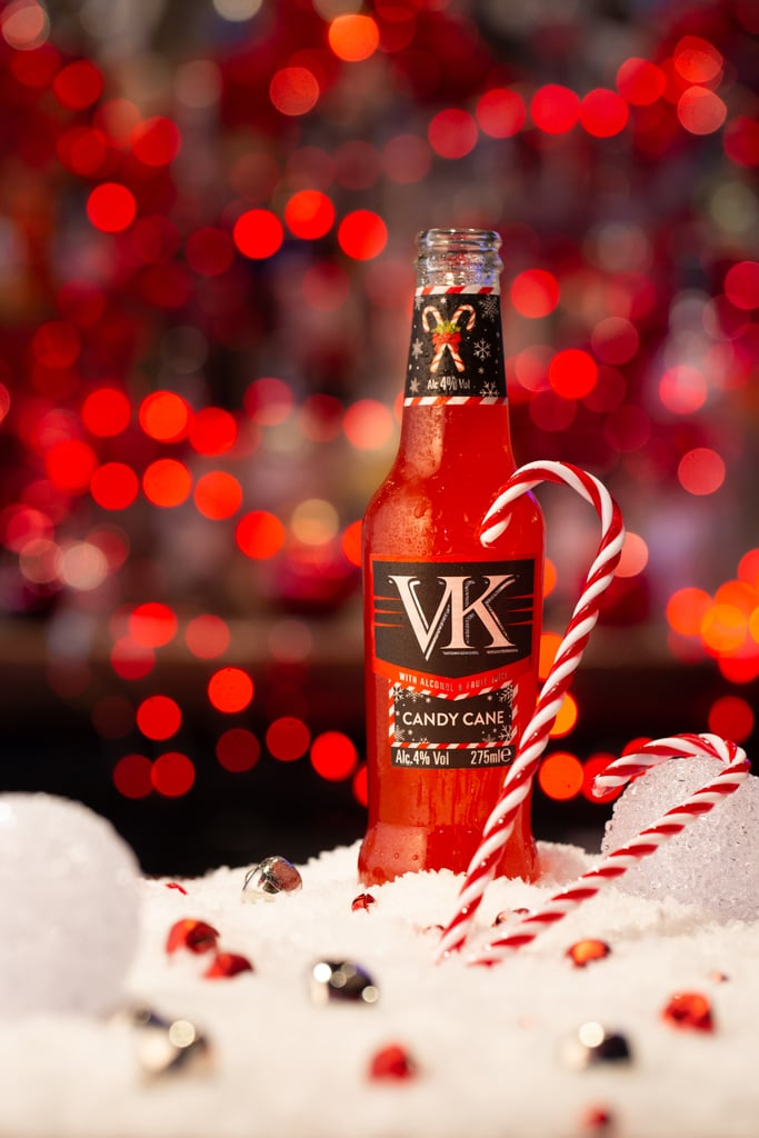 VK Limited Edition Candy Cane Vodka Drink