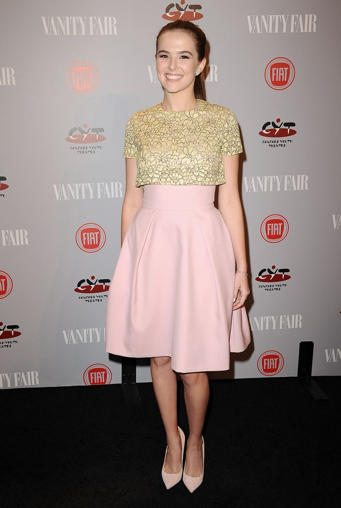 Zoey Deutch at the Vanity Fair Young Hollywood Party