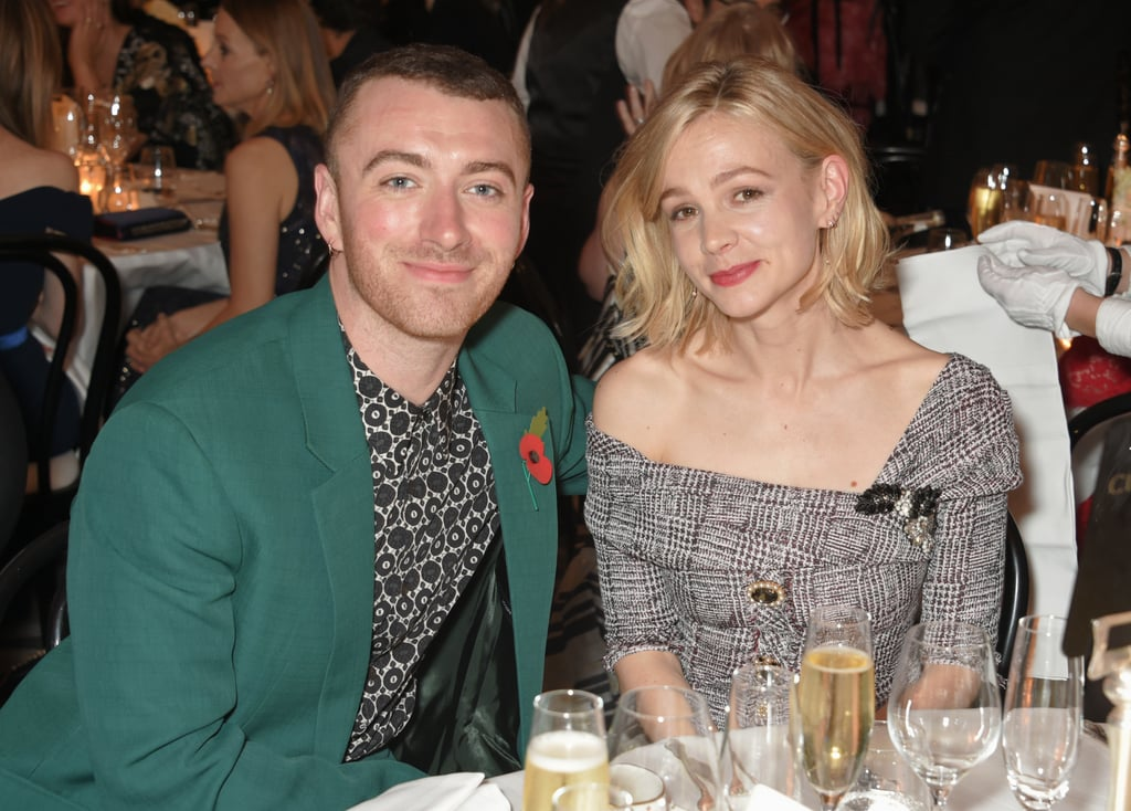 Sam Smith and Carey Mulligan