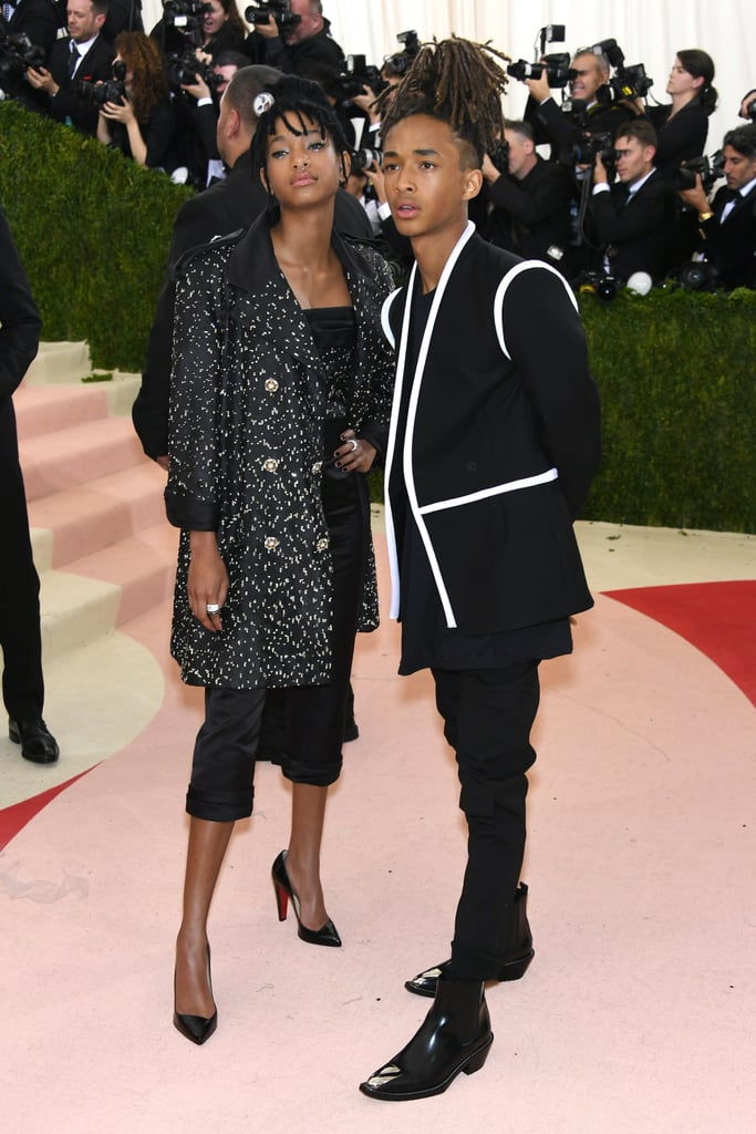 Willow Smith and Jaden Smith at the Met Gala 2016