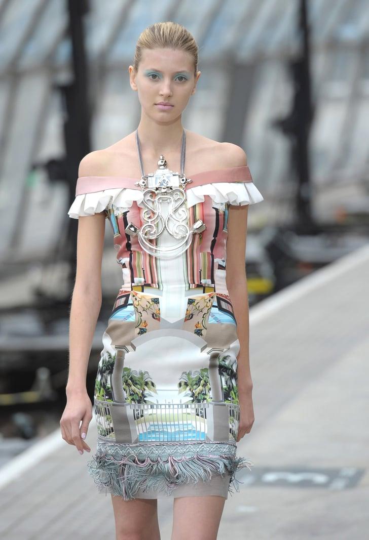 2011 Spring London Fashion Week: Mary Katrantzou