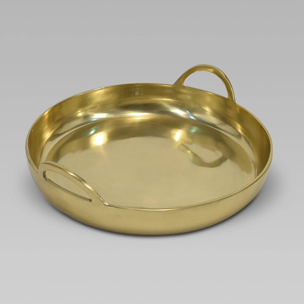Project 62 Round Metal Tray Gold
